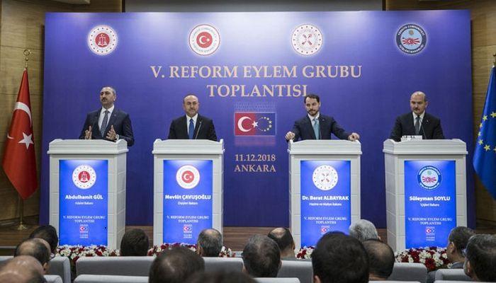 Türkiye ısrarcı: ''AB'ye üyelik sürecinde ilerleme arzumuz gayet açık ve nettir''