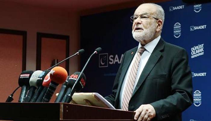 Saadet Partisi liderinden İdris Naim Şahin açıklaması: Etkin pişmanlık