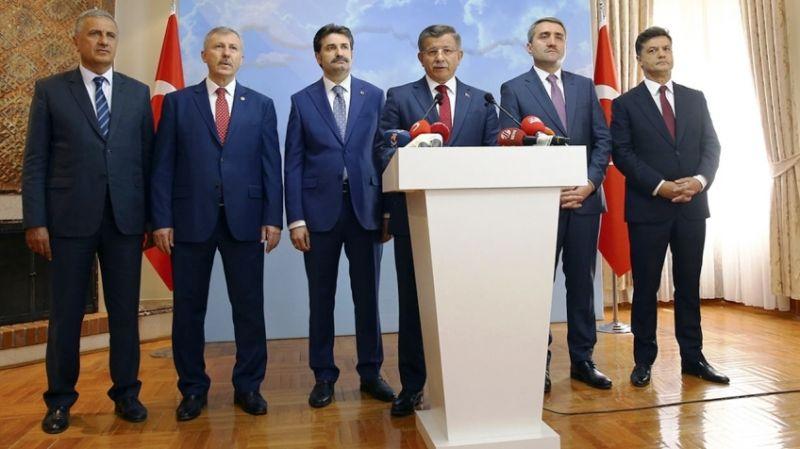 Davutoğlu'nun istifası sonrası Ak Parti'den ilk yorum