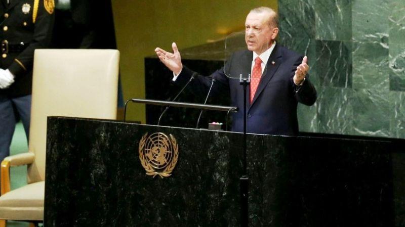 Erdoğan: BM Kürsüsü'nden soruyorum; İsrail'in sınırları neresidir?
