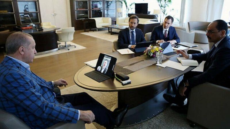 Cumhurbaşkanı Erdoğan, yeni bakan ile görüştü