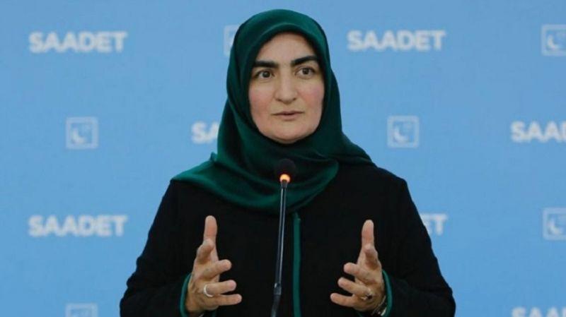 Ak Parti'li milletvekili, Saadet Parti'li Asiltürk'ü eleştirdi: İstanbul Sözleşmesi'ni bilmiyor!