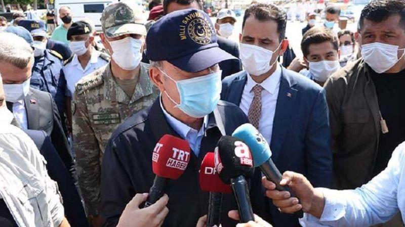 Millî Savunma Bakanı Hulusi Akar'dan Kaş'a ziyaret: İsteklerimiz ve taleplerimiz karşılandığı takdirde diyalogdan yanayız