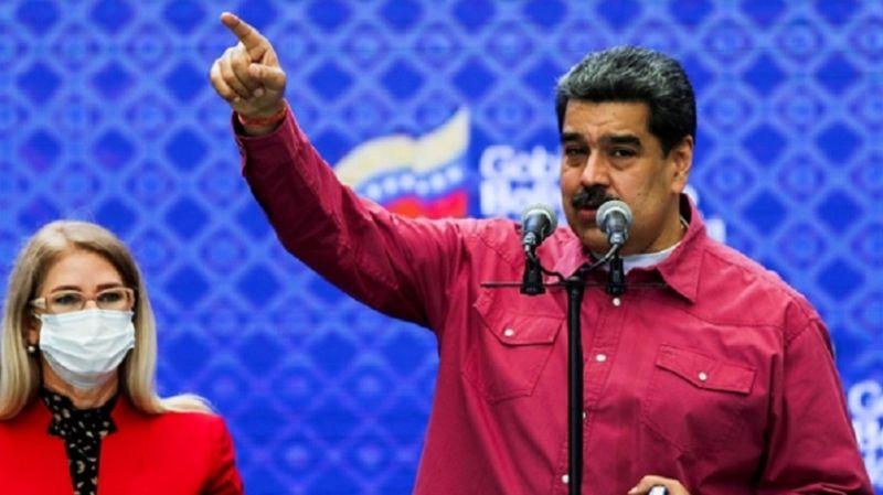 Maduro, parlamento seçimlerinde zaferini ilan etti