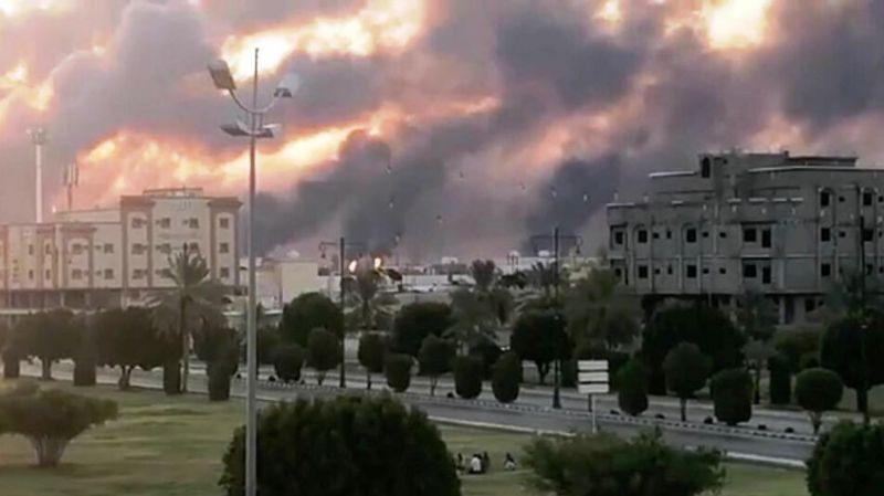 Petrol tesisleri vurulan Suudi Arabistan'dan açıklama