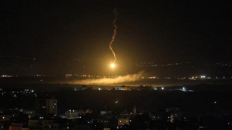 Siyonist İsrail, yine Şam'a saldırdı: 4 Suriye askeri yaralı