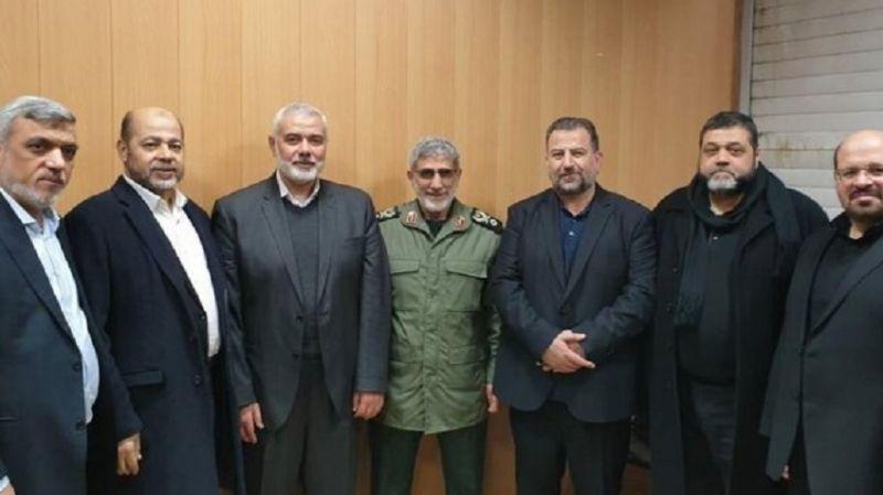 İran'ın Kudüs Gücü Komutanı, Hamas ve İslami Cihad liderleri ile görüştü
