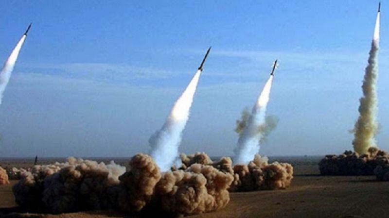 Video yayımladılar: İran yapımı füzelerin Filistin'den fırlatılma anları!