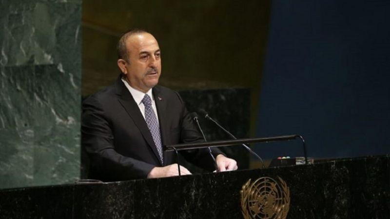 Çavuşoğlu, BM'de konuştu: Yaşananların tek sorumlusu İsrail, haksızlık karşısında susan dilsiz şeytandır