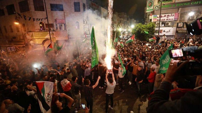 Filistin'in haklı gururu: Sokaklarda zafer çığlıkları
