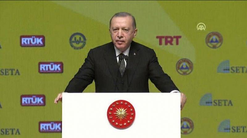 Cumhurbaşkanı Erdoğan'dan laiklik çıkışı
