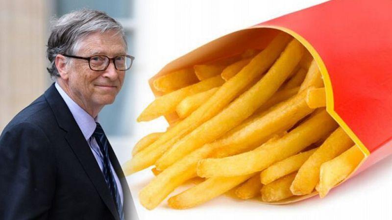 McDonald's'ın patatesleri Bill Gates'ten
