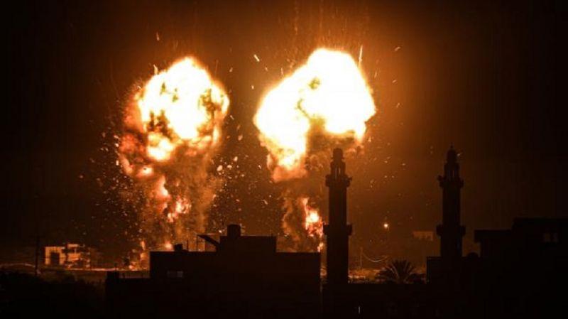 Siyonist rejim yine Gazze'ye saldırdı