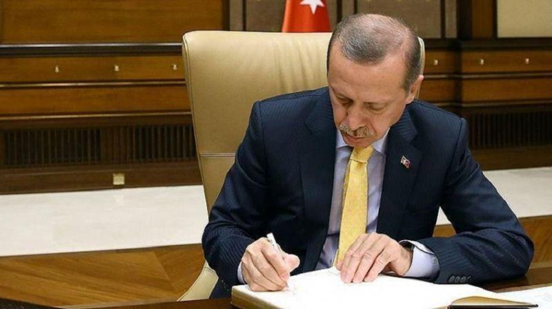 Cumhurbaşkanı Erdoğan'dan bakanlıklarda yeni atamalar