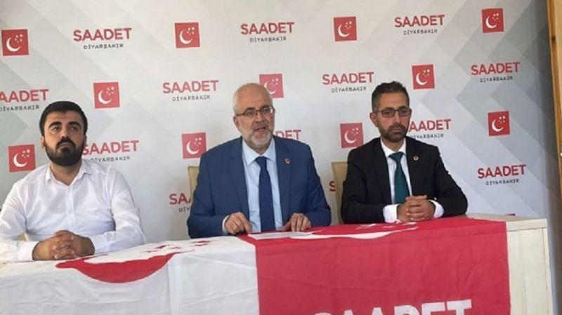 Saadet Partisi Diyarbakır'a yeni il başkanı