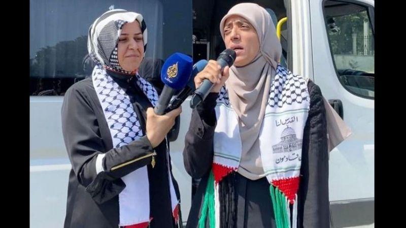 Kudüs muhafızı Hatice Uveys Türkiye'de konuştu