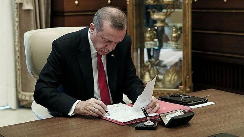 Cumhurbaşkanı Erdoğan'dan gece yarısı atama kararları