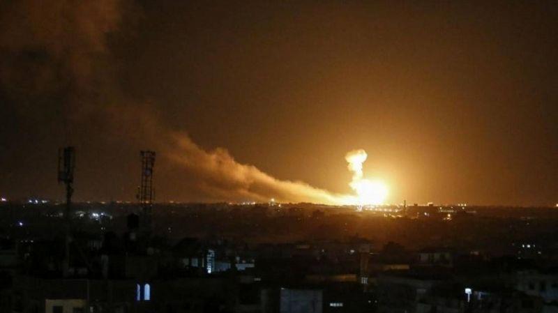 Siyonist rejimden Hamas'a saldırı