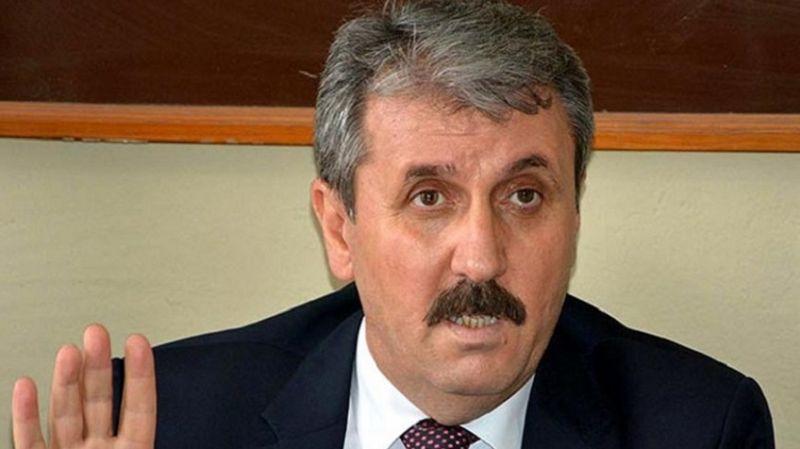 Cumhur İttifakı'na destek veren Destici, hükümete yüklendi