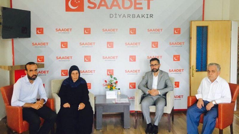 Urfalı Şenyaşar ailesinin yaşadığı mağduriyet ile ilgili Saadet Partisi'nden çağrı