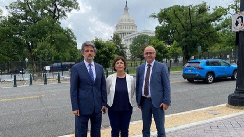 Gözden kaçan ziyaret: HDP heyeti ABD'de temaslar gerçekleştiriyor