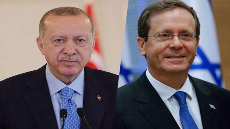 İsrail Cumhurbaşkanı ile görüşen Cumhurbaşkanı Erdoğan: Yüksek işbirliği potansiyelimiz var