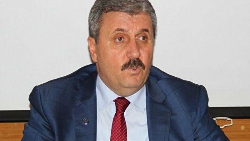 BBP lideri Mustafa Destici'den Ömer Faruk Gergerlioğlu çıkışı