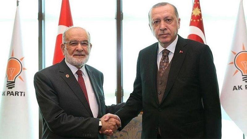 'Erdoğan, Temel Karamollaoğlu'na sitemli'