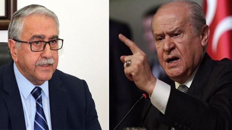 EOKA militanı demişti: Mustafa Akıncı, Bahçeli'ye cevap verdi