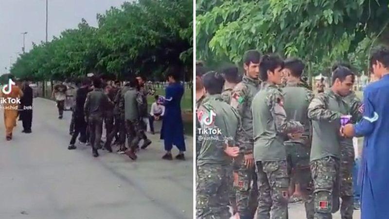 'Zeytinburnu'ndaki Afganlar' görüntüsünde gerçek ortaya çıktı