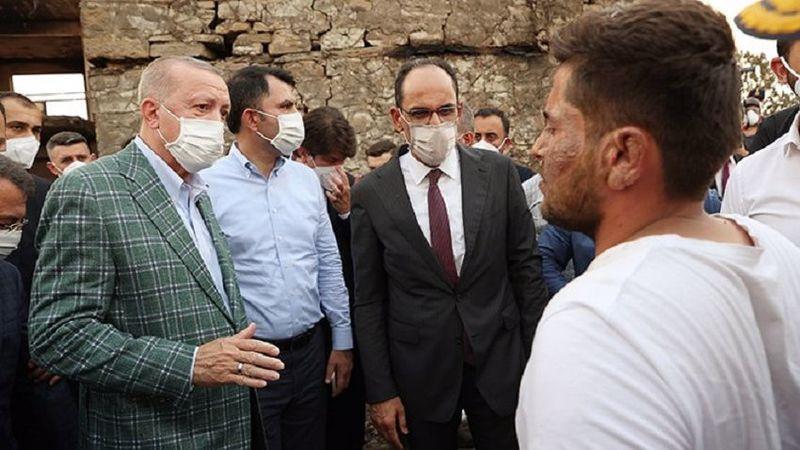 'Erdoğan, yangında evi yananlara teklif götürdü'