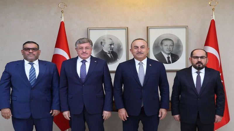 Çavuşoğlu, Suriye muhalefetine desteğini yineledi: Meşru temsilci onlar