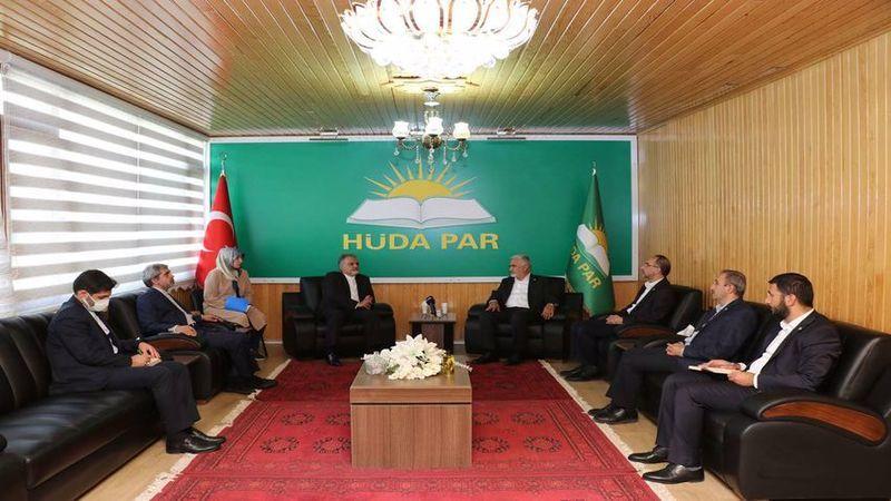 İran Büyükelçisi'nden Hüda Par'a ziyaret