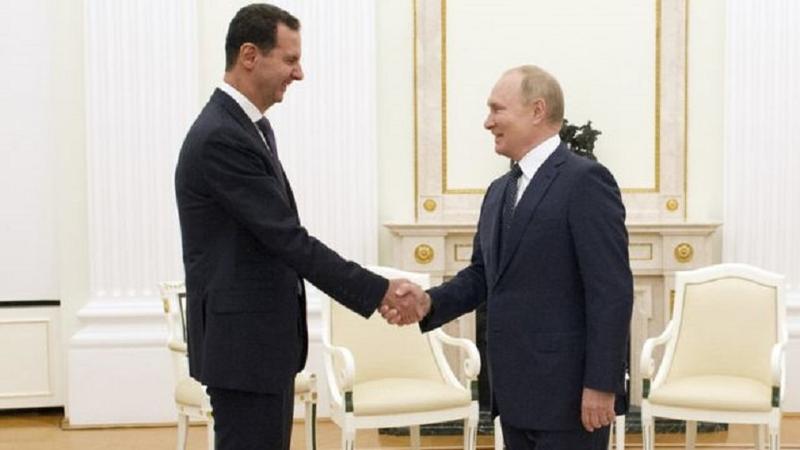 Putin ile Esad buluştu