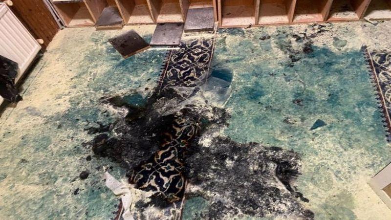 İstanbul'da cami kundaklama girişimi