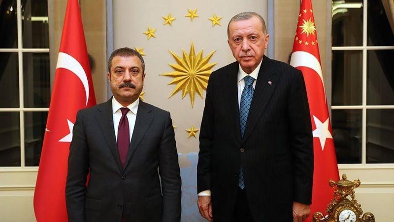 Erdoğan ve Şahap Kavcıoğlu görüştü; Merkez Bankası'nda 3 isim görevden alındı