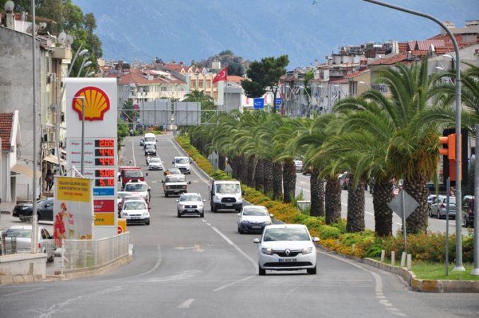 Muğla'da  araç sayısı 1 yılda 14 bin 496 arttı