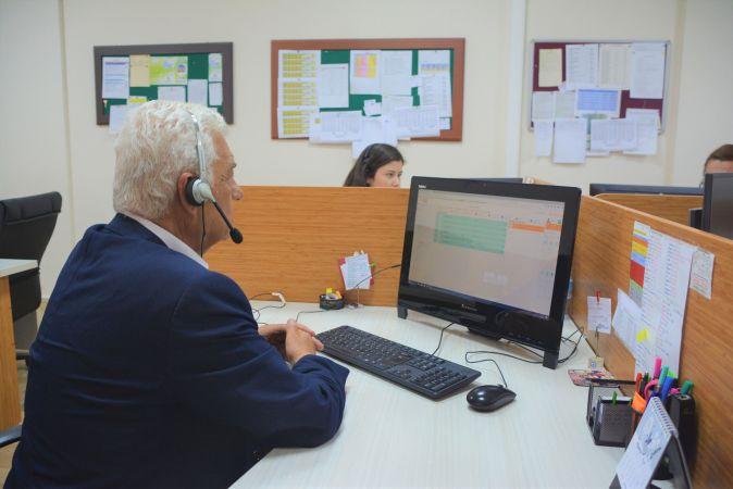 Başkan Gürün'den Çağrı Merkezi'ne Ziyaret