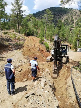 Dalaman'da 4 Mahallenin Su Sorunu Çözüldü