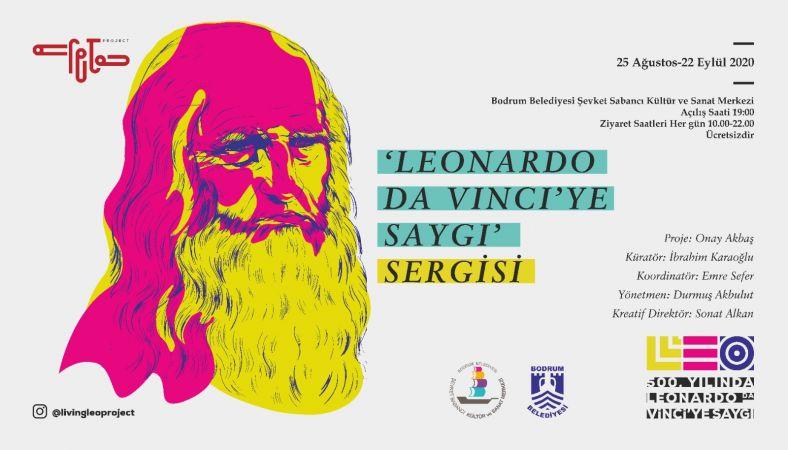 "ŞEVKET SABANCI'DA ""LEONARDO DAVINCI'YE SAYGI"" SERGİSİ"