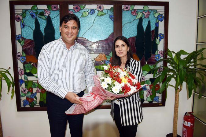 CHP PM Üyesi Gizem Sayar Özcan, Karaca'yı ziyaret etti