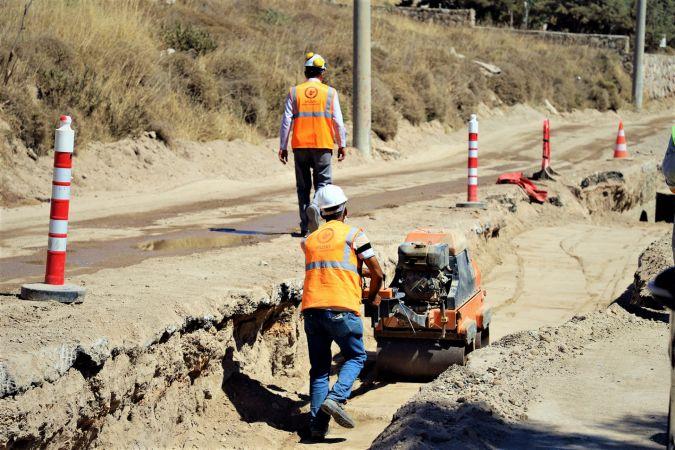 Bodrum'un 30 Bin Metre Kanalizasyonu Tamamlandı