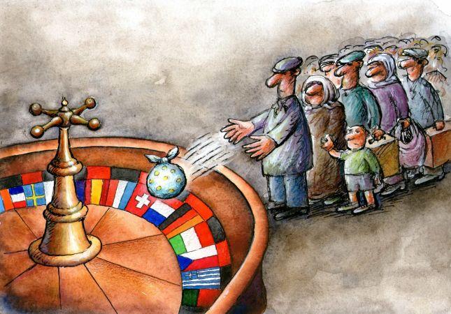 Karikatür Yarışmasını İngiltere'de Yaşayan Türk Vatandaşı Kazandı