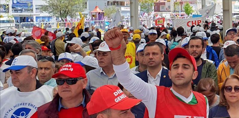 CHP'li Erbay: 1 Mayıs tüm emekçilerimize kutlu olsun