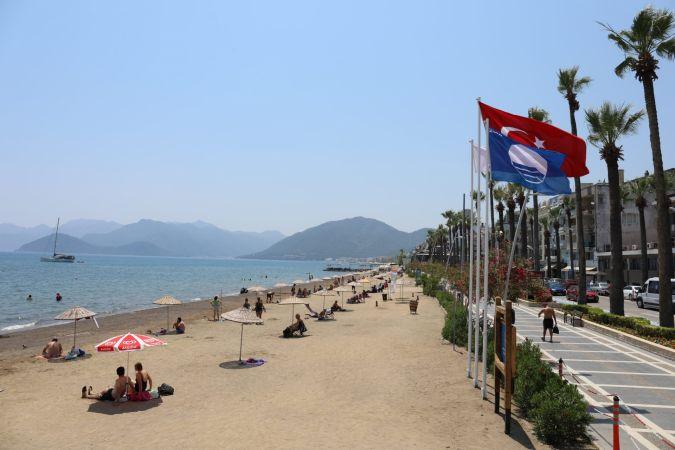 Belediyenin ikinci plajı da mavi bayraklı