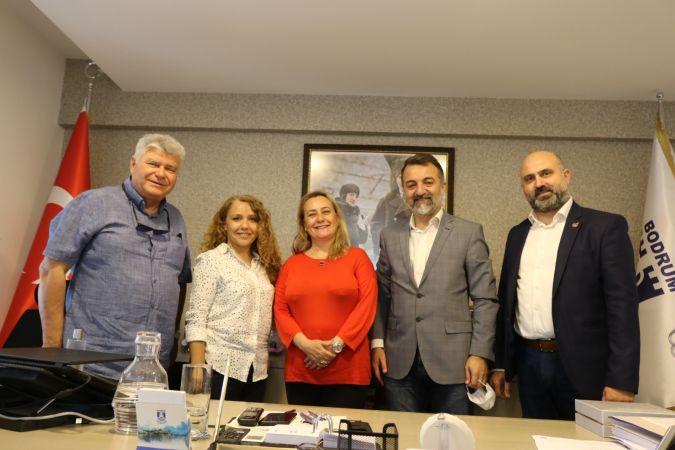 Başkan Akbulut, Bodrum'da temaslarda bulundu