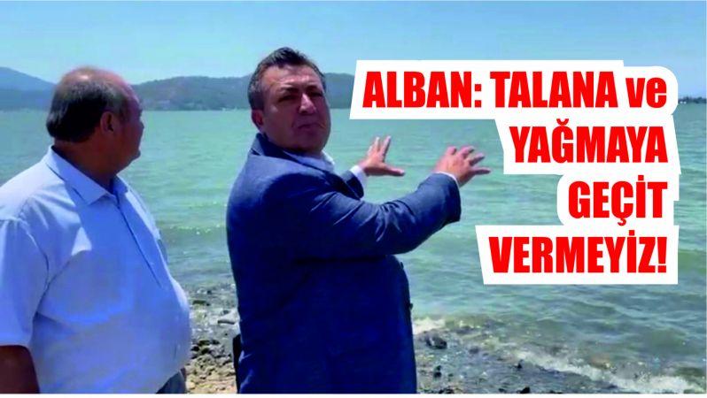 Alban : Talana izin vermeyiz!