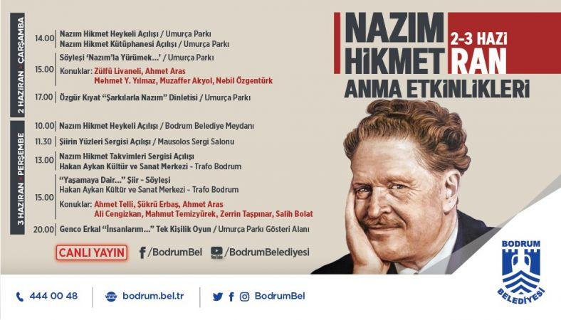 58. ölüm yıl dönümünde Bodrum'da anılacak