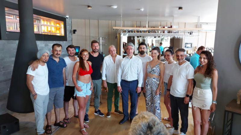 'Dost Kazığı' Sinema Filmi Marmaris'te Çekiliyor