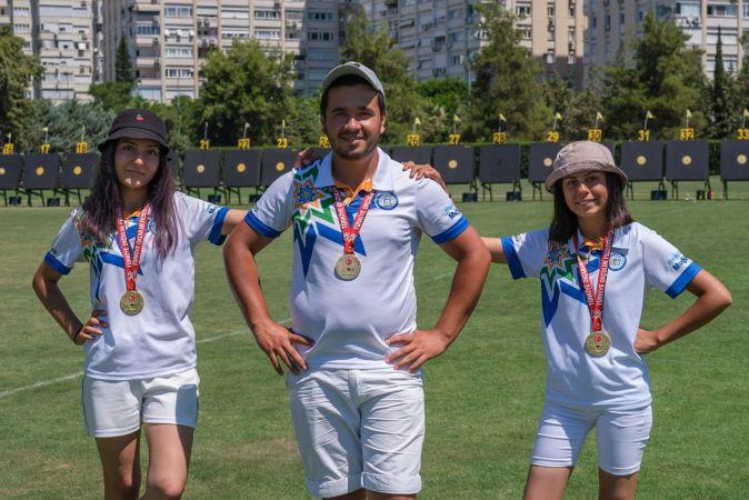 Türkiye Şampiyonu Olan Okçular Milli Takımda